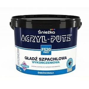 Sniežka ACRYL-PUTZ FS 20 FINISH biela hladká stierka