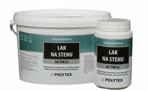 ACTIN LI lak na stenu polomatný 1kg POLYTEX