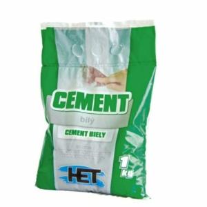 Cement biely HET 1kg