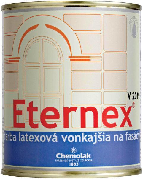 ETERNEX farba latexová vonkajšia na fasádu biela 0,8kg V2019